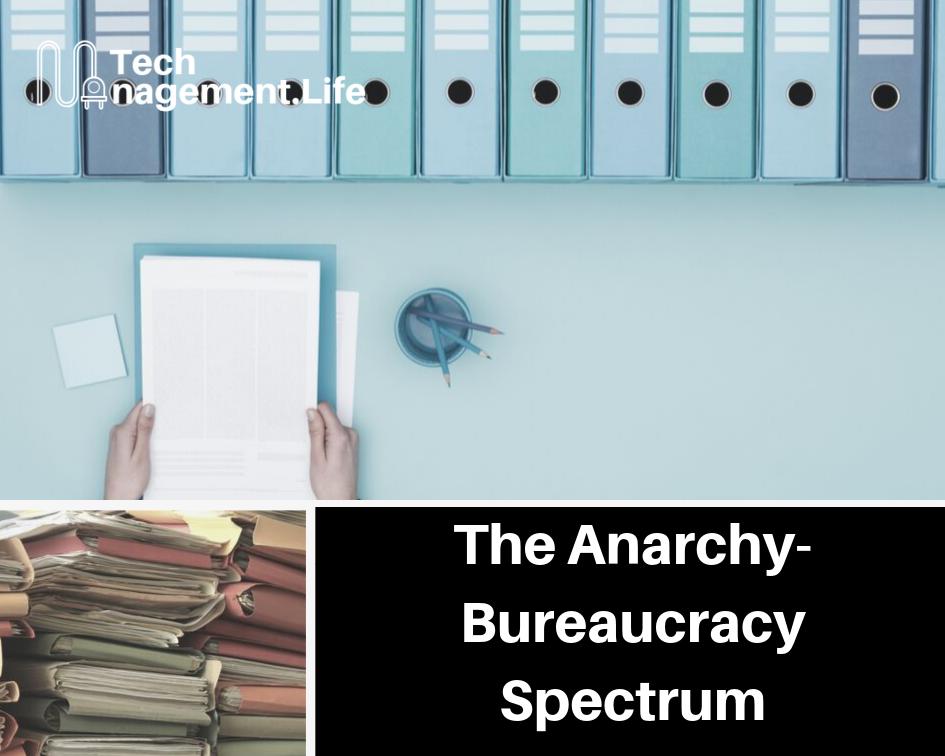 The Anarchy-Bureaucracy Spectrum - TechManagement.Life