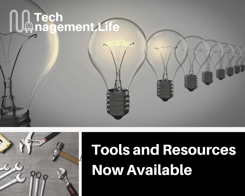 Tools and resources now available - TechManagement.Life
