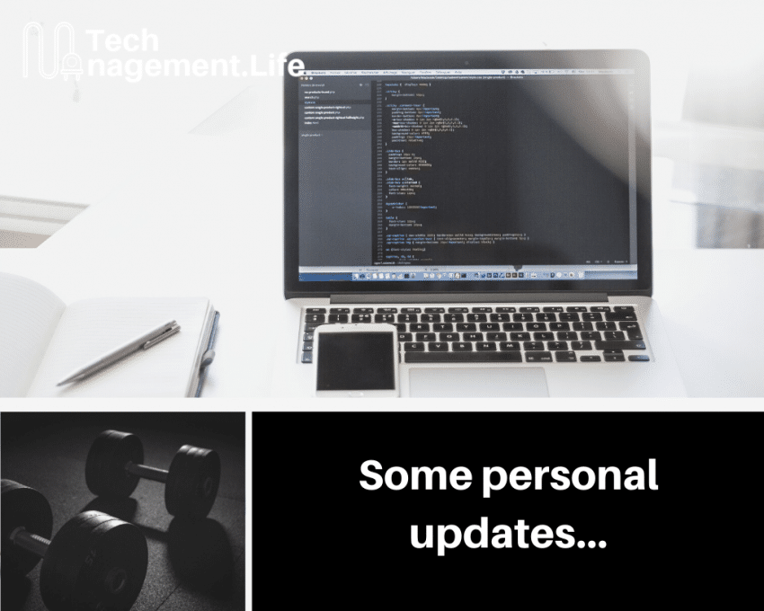 Personal Updates | TechManagement.Life