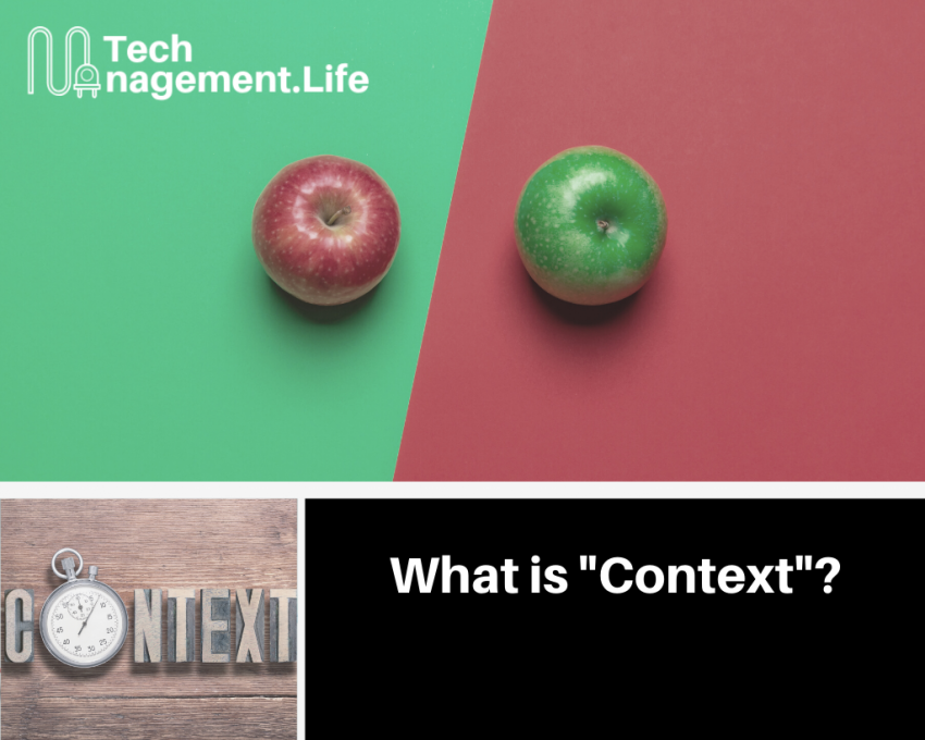 "What exactly is ""context""? 
